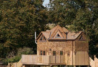 Self-catering treehouse near Exmoor National Park