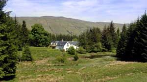 self catering cottages Killin Perthshire