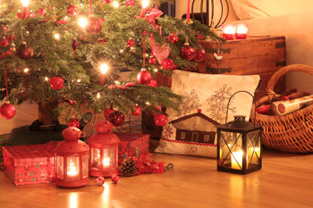 English Country Cottages For Christmas Xmas Country