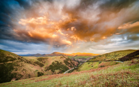 Carding Mill Valley, Shropshire Hills
