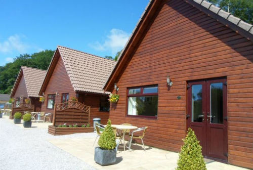 wheelchair accessible holiday lodge at Alpine Park Lodges