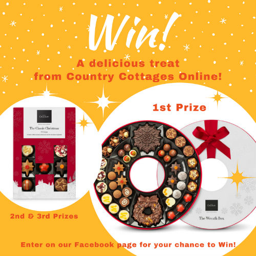 Country Cottages Online Christmas chocolate competition 2017