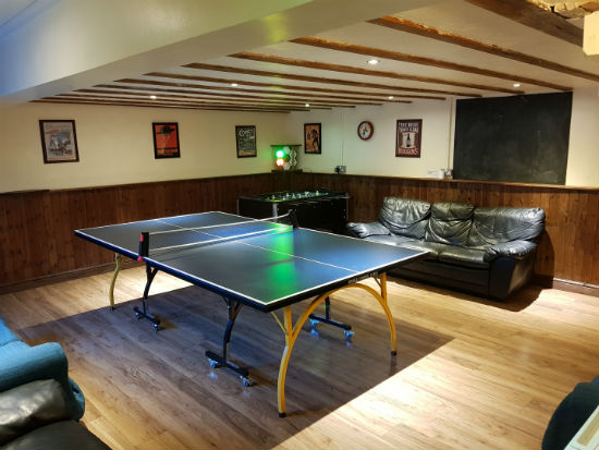 cottages and self-catering holiday accommodation with table tennis