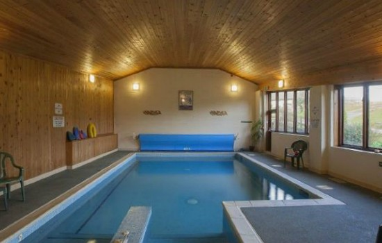 Pool at Luccombe Farm in Dorset