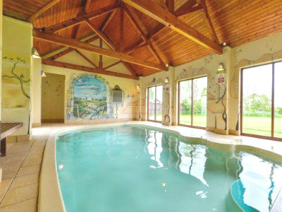 Cottages with a swimming pool self catering holiday for Uses for old swimming pools