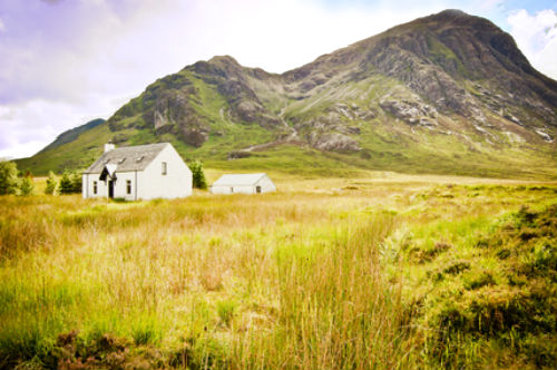 Remote Cottage Scotland