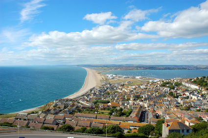 Chesil Beach near Weymouth