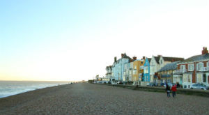 Aldeburgh, for a coastal holiday in Suffolk