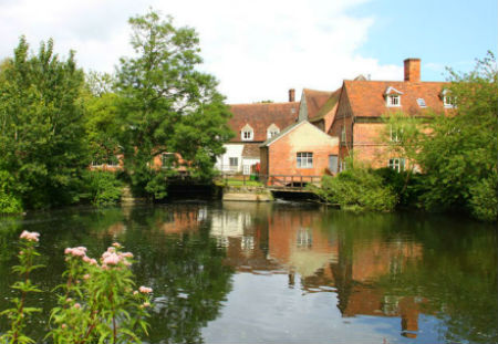Flatford Mill in the Dedham Vale