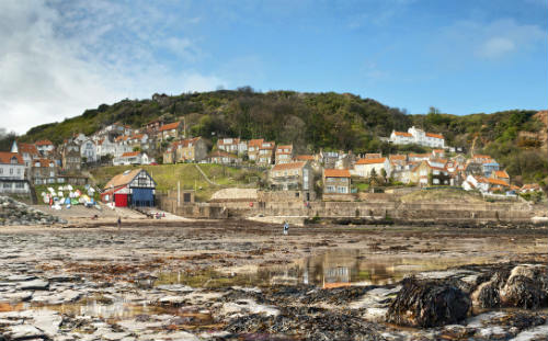 Runswick Bay seaside