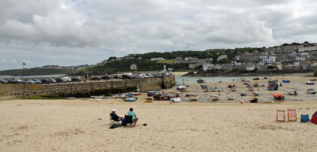 seaside holiday in Cornwall St Ives
