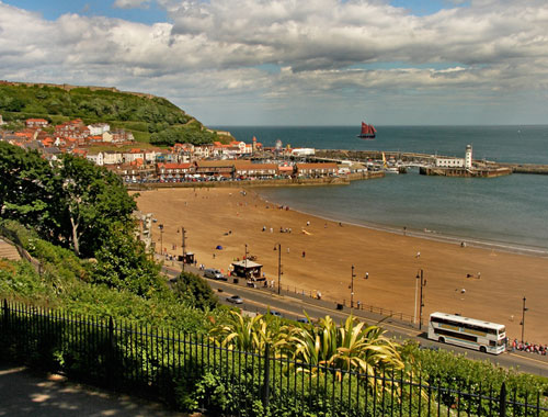 Scarborough is a pet-friendly coastal holiday destination