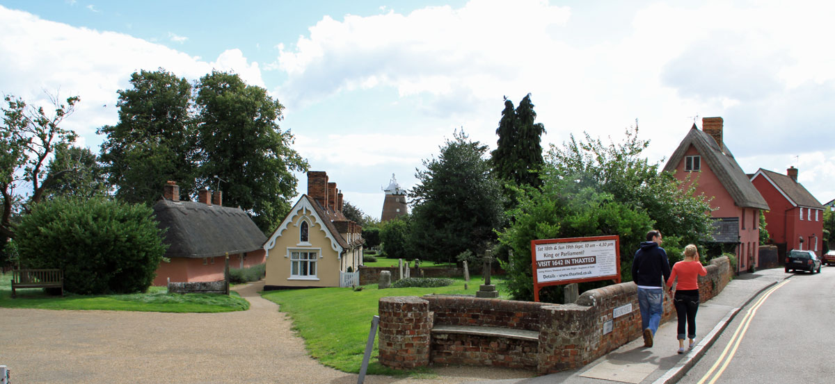 country breaks in Thaxted north Essex