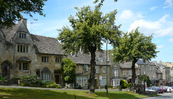 Picturesque Burford in the Cotswolds